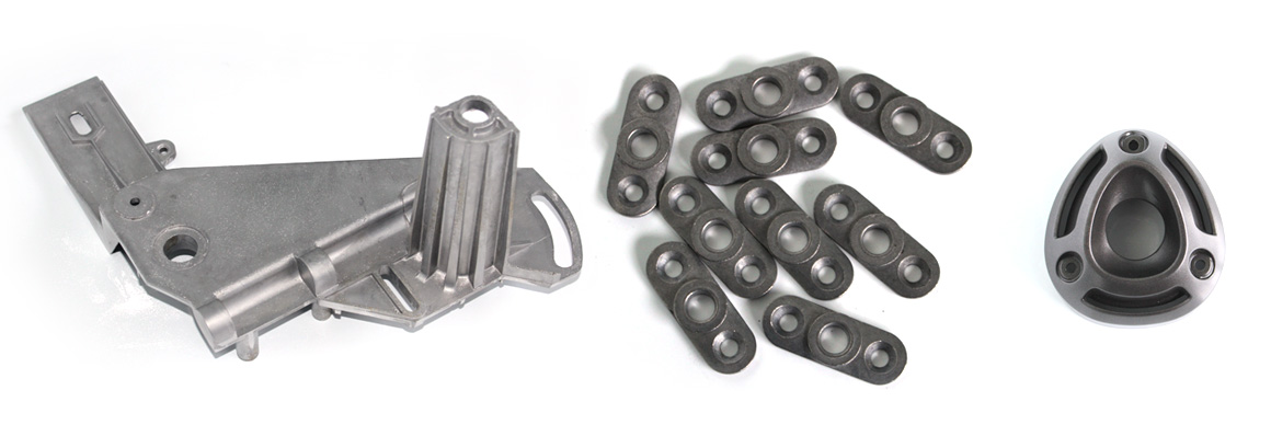 Pieces in injected aluminium, or gravity die casting in permanent mould